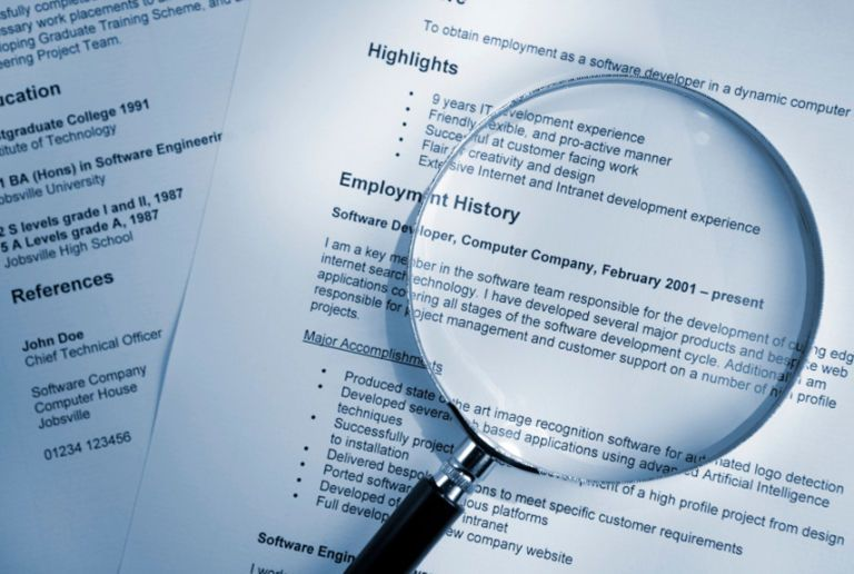Perfect Magnifying Glass On Resume