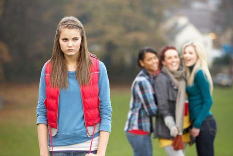teenage girls bullying