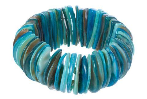 disc shell bracelet