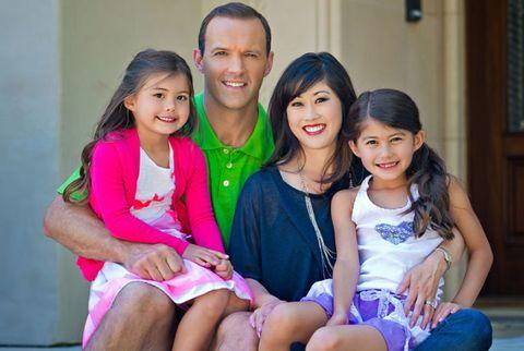 kristi yamaguchi with her husband and kids