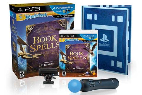 sony wonderbook book of spells