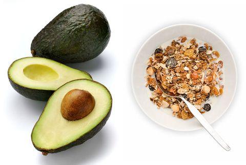 avocado and granola