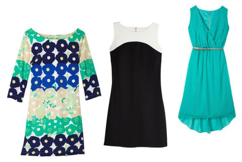 old navy shift and surplice dresses