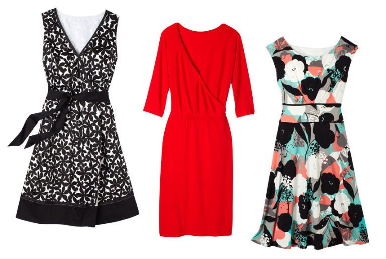 cotton and sateen dresses