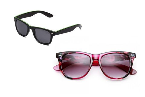 sunglasses for heart-shaped faces