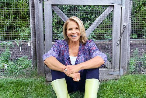 Katie Couric Gardening