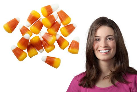 laura harders and candy corn