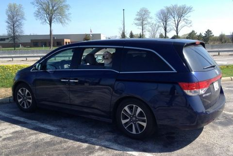 A Cross-Country Family Trip in the 2014 Honda Odyssey