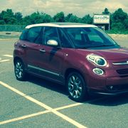 Summer, Soccer and the Seashore in a Sporty Fiat 500L