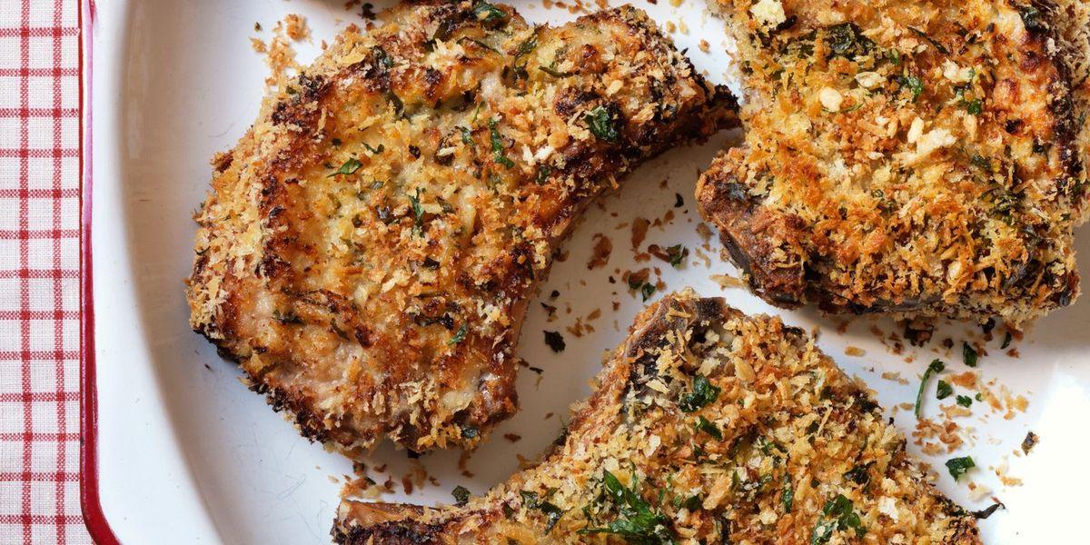 Crispy Baked Pork Chops With Parmesan Recipe