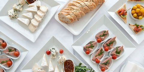 """<p>Not sure how much food to serve at your next soiree? Or when to plate it? Peter Callahan, caterer and author of <a href=""""http://www.amazon.com/Bite-Stylish-Little-Plates-Party/dp/0307718794"""" target=""""_blank""""><em>Bite by Bite: 100 Stylish Little Plates You Can Make for Any Party</em></a>, has the answer. Read on for his expert advice, plus a host of super-simple appetizer suggestions that you can find in the freezer aisle at the grocery store. These hors d'oeuvres are quick to heat, a great value and taste downright delicious.</p> <p> </p>"""