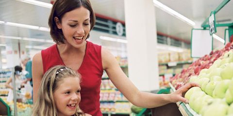 """<p>Feeding a family is never easy. Putting the right foods in front of your brood takes time, money and thoughtfulness. But what exactly does <em>right</em> mean? It's tough to know, given all the competing information about organic vs. nonorganic foods. """"Buy most things organic if money's no object; but for most people, this isn't the case,"""" says Bridget Swinney MS, RD, LD, author of <em><a href=""""http://www.amazon.com/Eating-Expectantly-Practical-Prenatal-Nutrition/dp/0671318209"""" target=""""_blank"""">Eating Expectantly</a></em>, <em><a href=""""http://www.amazon.com/Baby-Bites-Bridget-Swinney/dp/0684040034/ref=sr_1_1?s=books&ie=UTF8&qid=1335818134&sr=1-1"""" target=""""_blank"""">Baby Bites</a></em> and <em><a href=""""http://www.amazon.com/Healthy-Food-For-Kids-Nutritional/dp/B005M4UBZS/ref=sr_1_1?s=books&ie=UTF8&qid=1335818145&sr=1-1"""" target=""""_blank"""">Healthy Food for Healthy Kids</a></em>. """"I suggest families look at what their children eat on a regular basis and then look online to see how those foods rank in number of pesticides."""" Then, buy organic versions of the favorite foods that are high in pesticides and standard items for the rest. Or take a look at this cheat sheet from nutrition experts on which kid picks are worth buying organic—and which aren't.</p>"""