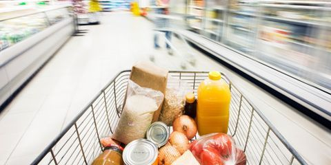 """<p>Hold onto your grocery carts: Prices on everything from poultry to pasta are going up in 2013, according to <a href=""""http://www.ers.usda.gov/data-products/food-price-outlook/summary-findings.aspx"""" target=""""_blank"""">the USDA's """"Food Price Outlook"""" report</a>. Why? A drought and the hottest summer temperatures in recorded U.S. history affected nearly 90% of the country's corn and soybean crops. And both corn and soybeans are used in animal feed. Fruits, vegetables, grain crops and animal herds also suffered. While there's no threat of a food shortage (phew!), fewer eats are being produced this year, so they'll cost more next year.</p> <p>Luckily, you can reduce the pain at the checkout by preparing your pantry now. """"Stock a little more than you'd normally buy,"""" suggests Erin Huffstetler, frugality expert for <a href=""""http://frugalliving.about.com/bio/Erin-Huffstetler-26622.htm"""" target=""""_blank"""">About.com</a>, who watched her own Tennessee garden wither in the relentless summer heat. No, you don't need to clean out the big-box store this second. Just buy a couple extra items when you have coupons for them or they go on sale, recommends Stephanie Nelson, author of <em><a href=""""http://www.amazon.com/s/ref=nb_sb_noss_2?url=search-alias%3Dstripbooks&field-keywords=Coupon+Mom"""" target=""""_blank"""">The Coupon Mom's Guide to Cutting Your Grocery Bills in Half</a></em>. Read our roster of foods to stockpile now, plus learn how to get more bang for your buck, make room for these items in your home and make them last. </p>"""