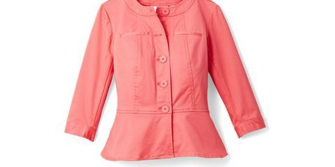 """<p>Get more out of your breezy blouses by throwing a cute cropped jacket on top. <em>Joan Rivers Peplum Jacket with ¾ Sleeves, $55; </em><a href=""""http://www.qvc.com/"""" target=""""_blank""""><em>QVC.com</em></a></p>"""