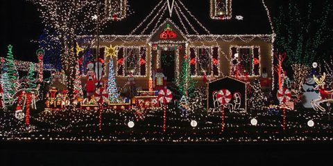 """<p>Maybe it's because there are so many dark hours in winter, but we can't get enough of the dazzling displays that make the holiday season merrier. Though we prefer to appreciate the residences from afar (we wonder how the neighbors feel about all the visitors these homes attract!), here's a sampling of some of the most spectacular <a href=""""http://www.womansday.com/home/holiday-decorating-ideas/7-decked-out-christmas-houses-101251"""">outdoor Christmas decorations</a>.</p>"""