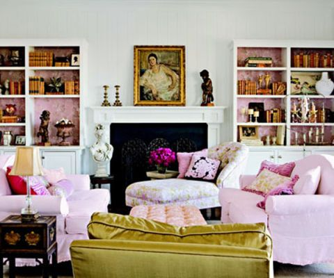 Better your bookshelves. If you're hesitant about wallpapering an entire room, consider covering the backing of a bookcase. It'll add a subtle pop of pattern for a whole lot less money.<br /><em>—Sara Gilbane, Sara Gilbane Interiors </em>