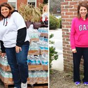 """<p>After years of yo-yo dieting, Denise Gaughan, 43, of Selden, NY, shed 97 pounds through Weight Watchers at Work. But instead of showing off her new figure, """"I was choosing outfits based on how well they covered me up,"""" she admits. To help her face her fashion fears, Denise teamed up with lifestyle expert and WD contributing editor Clinton Kelly. First, he encouraged Denise to get rid of everything that was too big. """"It's time to celebrate who you are right now, and dress the body you've worked hard for,"""" Clinton says.</p>"""
