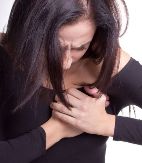 Everyone knows the typical symptoms of a heart attack: your left side usually goes numb and tightness of the chest. However, the symptoms of a heart attack manifest differently on women. For some women, the symptoms leading to a heart attack can be something as common as nausea or slight discomfort. This usually leads to misdiagnosis or women being ignored by their doctors, says Dr. Ryskina. According to the American Heart Association, women tend to also feel pain on the jaw and shortness of breath. It's important to remember that cardiovascular disease is the number one killer of women, causing the death of 1 of 3 women each year.