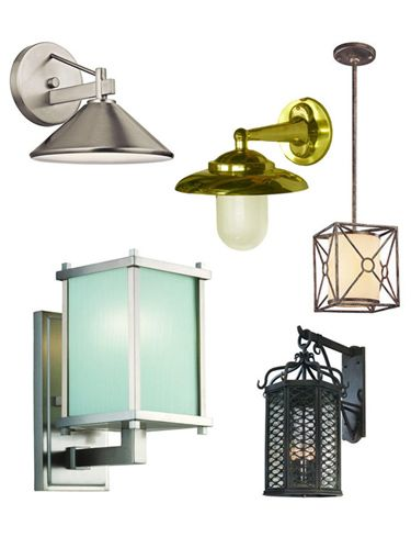 collage of lamps