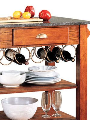 <p> When there's a large family to feed, it's likely you'll be spending a good amount of time in the kitchen. The latest kitchen inventions not only save you time, they add character to your cooking haven, too. If you're looking to update your kitchen with new islands, appliances or seating, have a look below at these affordable picks.  </p>