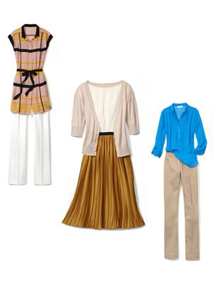 <p>A huge trend this season, these slim folds have graduated from schoolgirl skirts to sophisticated staples. Click through to discover fun and flattering ways to wear the look.</p>