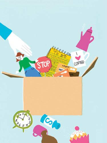 <p>Whenever your house gets overwhelmingly messy, you start tossing and organizing. Why not do the same for your emotional clutter--get rid of all the stuff that's been sapping your energy and bringing you down? Here, seven sanity-saving tips that will help you do just that. Less stress guaranteed!</p>