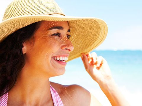 """<p>You've been told hundreds of times that wearing sunscreen is the best way to protect your skin. But there's more to it than just slapping it on. """"Most women only apply about 25% to 50% of the sunscreen they really need,"""" says Elizabeth Martin, MD, a dermatologist in Hoover, AL.</p> <p>You should use at least 1 oz of sunscreen (about how much it would take to fill a shot glass) to cover your face and all exposed areas of your body. As the day goes on, don't forget to reapply, especially if you're spending time outdoors. In that case, put on more at least every two hours. And keep in mind: A typical bottle of sunscreen is 8 oz, which means that if you're using it right, you should finish at least two bottles every sunny season, says Linda K. Franks, MD, director of Gramercy Park Dermatology in New York City. Flip through for more smart sunscreen tips and skin protection advice.</p>"""