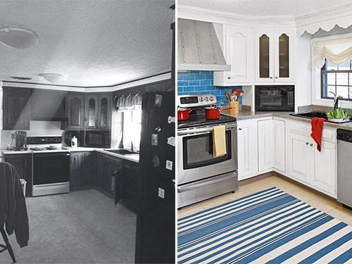 <p>There's a lot you can do to change the way a kitchen looks. Appliances can get upgraded, cabinets can be replaced and backsplashes can be added, not to mention the usual tricks you can apply to floors and walls. The spaces that follow do all that and more in spectacular ways. Keep clicking to see the most impressive before-and-after photos we could find.</p>