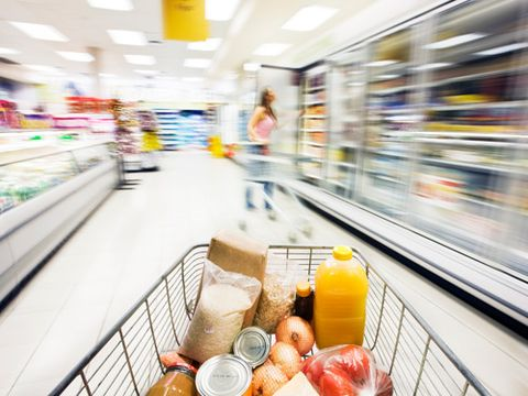 "<p>Hold onto your grocery carts: Prices on everything from poultry to pasta are going up in 2013, according to <a href=""http://www.ers.usda.gov/data-products/food-price-outlook/summary-findings.aspx"" target=""_blank"">the USDA's ""Food Price Outlook"" report</a>. Why? A drought and the hottest summer temperatures in recorded U.S. history affected nearly 90% of the country's corn and soybean crops. And both corn and soybeans are used in animal feed. Fruits, vegetables, grain crops and animal herds also suffered. While there's no threat of a food shortage (phew!), fewer eats are being produced this year, so they'll cost more next year.</p> <p>Luckily, you can reduce the pain at the checkout by preparing your pantry now. ""Stock a little more than you'd normally buy,"" suggests Erin Huffstetler, frugality expert for <a href=""http://frugalliving.about.com/bio/Erin-Huffstetler-26622.htm"" target=""_blank"">About.com</a>, who watched her own Tennessee garden wither in the relentless summer heat. No, you don't need to clean out the big-box store this second. Just buy a couple extra items when you have coupons for them or they go on sale, recommends Stephanie Nelson, author of <em><a href=""http://www.amazon.com/s/ref=nb_sb_noss_2?url=search-alias%3Dstripbooks&field-keywords=Coupon+Mom"" target=""_blank"">The Coupon Mom's Guide to Cutting Your Grocery Bills in Half</a></em>. Read our roster of foods to stockpile now, plus learn how to get more bang for your buck, make room for these items in your home and make them last. </p>"