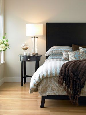 "<p>You don't have to empty out your savings to turning your haven into a dreamy getaway. From sprucing up the walls to jazzing up door knobs, your room is just $50 away from a must-do makeover. Click through for 6 easy ideas to help you get started.</p> <p><strong>1. Liven up Linens</strong></p> <p>To make bedding look like new, you don't have to replace everything. The trick: Simply swap in one or two eye-catching elements--a toss pillow and throw blanket, or just a duvet, or pillow shams. Turn the page for some pretty picks, plus where to find a fuzzy rug for underfoot.</p> <p>Pick up one (or more!) of these affordable buys.</p> <p><em>Favorite Throw in Sky, $29; <a href=""http://www.westelm.com/products/favorite-throw-t087/?pkey=e