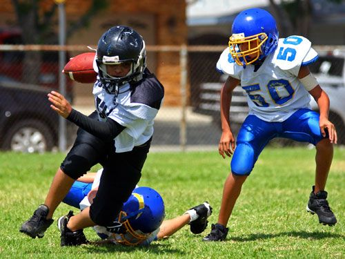 "<p>Kids who don't use or wear protective equipment are obviously more at risk for sports injuries (a huge problem, according to the American Academy of Pediatrics, with <a href=""http://www.aap.org/en-us/about-the-aap/aap-press-room/News%20Features/Preventing_Sports_Injuries_In_Kids_And_Teens.pdf"" target=""_blank"">3.5 million children sidelined due to injury each year</a>). But failure to wear the right body armor isn't the only thing that could send your little athlete to the hospital. Keep clicking to discover seven other things that raise the odds of your child getting hurt playing sports.</p>"