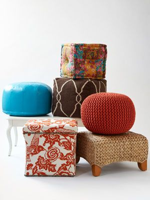 6 Affordable Ottomans to Enliven Any Room