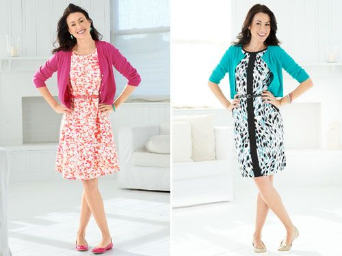 """<p>There's nothing like finding a dress that looks like it was made for you while not emptying your wallet. Thankfully, creating a custom-like wardrobe can be a cinch when you buy for your body type. Read on and keep clicking for chic product picks and smart advice on buying the best clothes for you.</p><p>Where Should Your Dress Hem Hit?</p><p><strong>A-Line</strong></p><p>Flared skirts (like the one above) look best when they land within 2 inches above or below your knee (mid-calf, and they start to look matronly).</p><p><strong>Sheath</strong></p><p>Shapely styles that follow the curves of your hips and thighs are most flattering when they fall mid-knee.</p><p><strong>Shift</strong></p><p>Straight-cut styles ideally should end just above your knee to help lengthen and show off your legs.</p><p><em>On right: </em><em>V-Neck Cardigan, $59&#x3B; </em><a href=""""http://www.landsend.com/"""" target=""""_blank""""><em>LandsEnd.com</em></a><em>. </em><em>212 Collection Belted Ponte Dress, $54&#x3B; </em><a href=""""http://www.kohls.com/"""" target=""""_blank""""><em>Kohls.com</em></a><em>. </em><em>Baby Bauble Earrings, $7&#x3B; </em><a href=""""http://www.shoplately.com/"""" target=""""_blank""""><em>ShopLately.com</em></a><em>. </em><em>Bangle, $18&#x3B; </em><a href=""""http://www.shopluxaccessories.com/"""" target=""""_blank""""><em>ShopLuxAccessories.com</em></a><em>. </em><em>Widgeon Flats, $59&#x3B; </em><a href=""""http://www.ninewest.com/"""" target=""""_blank""""><em>NineWest.com</em></a><em>.</em></p><p><em>On left: Cropped Crew Cardi, $15&#x3B; </em><a href=""""http://www.oldnavy.com/"""" target=""""_blank""""><em>OldNavy.com</em></a><em> </em><em>Dress with Belt, $78&#x3B; </em><a href=""""http://www.londontimesfashion.com/"""" target=""""_blank""""><em>LondonTimesFashion.com</em></a><em>. </em><em>Julep Bangles, $19 each&#x3B; </em><a href=""""http://www.stelladot.com/"""" target=""""_blank""""><em>StellaDot.com</em></a><em> </em><em>MLE Sweetness Flats, $99&#x3B; </em><a href=""""http://www.miashoes.com/"""" target=""""_blank""""><em>MiaShoes.com</em></a><em>."""