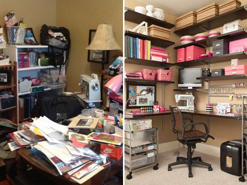 Organizing your home office Closet Behind The Scenes Of Project Declutter Part Ii Get The Home Office Organizing Womans Day Home Office Organization How To Organize Your Home Office