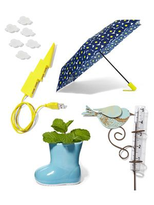 <p>Rainy days can be downers, but these fabulous finds make even the dampest of days a bit brighter. Adding a splash of fun to your everyday life has never been this easy or affordable. Click through to discover how to jazz up everything from your bathtub to your rain boots. </p>