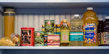 """<p>Fill up the pantry with these staples (plus oil) and you'll always have delicious meals, like these <a href=""""http://www.womansday.com/food-recipes/quick-recipes/pantry-staples"""" target=""""_self"""">easy dinners</a>, at your fingertips.</p>"""