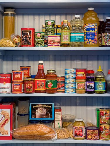 "<p>Fill up the pantry with these staples (plus oil) and you'll always have delicious meals, like these <a href=""http://www.womansday.com/food-recipes/quick-recipes/pantry-staples"" target=""_self"">easy dinners</a>, at your fingertips.</p>"