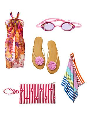 <p>Besides snacks and sunscreen, a beach day calls for a sun-ready ensemble. Strut on the sand with everything from fab flip flops to a stylish sarong. The best part—all these selections are less than $40! Click through to check out what your beach days have been missing.</p>