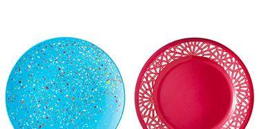 Plastic Dinner Plates - Nice Melamine Plates