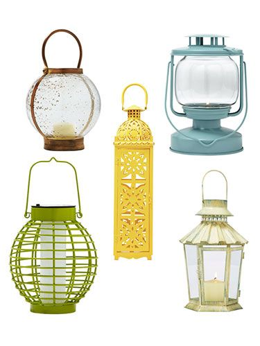<p>Add a charming touch to your decor while lighting up your nights. Offering subtle style both indoors and out, these pretty picks are decorative must-haves. Stressed about open flames? Battery-powered pillars, votives and tealights give a no-risk, realistic flicker. Click through for great deals on lanterns.<em> <br /></em></p>