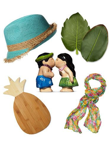 <p>Summer fun doesn't have to end when you leave the seashore. Whether you're looking for fashionable footwear or cute kitchen knick-knacks, these goodies can make your beach-side memories a part of your everyday life—without bursting your budget. Click though for our favorite Hawaiian-themed finds. </p>