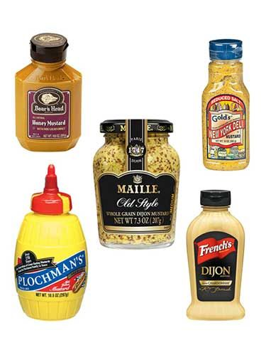 "<p class=""p1"">Spread the word! After an intensive taste test, the marvelous mustards that follow came out ahead of their counterparts. Try them in these new ways:</p> <p class=""p1""><strong>SALAMI FLATBREAD</strong></p> <p class=""p1"">Spread Dijon or whole-grain mustard on <a href=""http://www.womansday.com/recipefinder/easy-pizza-dough-recipe-120432"" target=""_self""><span class=""s1"">pizza dough</span></a> (stretched into a large oval). Top with provolone and salami and bake until the crust is golden brown.</p> <p class=""p1""><strong>HONEY-ROASTED SALMON</strong></p> <p class=""p1"">Brush honey mustard over salmon fillets and roast until opaque throughout.</p> <p class=""p1""><strong>ZINGY MAC 'N' CHEESE</strong></p> <p class=""p1"">Stir a spoonful of Dijon mustard into the cheese sauce before adding the noodles.</p> <p class=""p1""><strong>COUNTRY SPUDS</strong></p> <p class=""p1"">Fold a spoonful of whole-grain mustard into <a href=""http://www.womansday.com/recipefinder/mashed-potatoes-more-recipe-122082"" target=""_self""><span class=""s1"">mashed potatoes</span></a>.</p> <p class=""p1""><strong>TARRAGON NOODLES</strong></p> <p class=""p1"">Toss egg noodles with sour cream, Dijon mustard and fresh tarragon.</p> <p class=""p1"">Click through to see the winners in six savory categories.</p>"