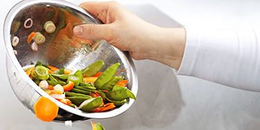 """<p class=""""p1"""">Yes, eating a lot of vegetables is crucial for good health. But the way you prepare them can also ward off disease. Keep clicking for five easy ideas for getting the most out of your favorite veggies.</p>"""