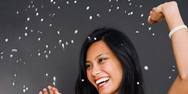 <p>The holiday season means party-going—and where there's a party, there's a camera. Learn how to look your best in photos at every fete with these simple tips. From perfecting your smile to smoothing your strands, these snapshot secrets will ensure that you never call yourself un-photogenic again.</p>
