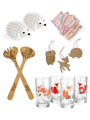 <p>Even if your neck of the woods isn't especially wooded, fall is filled with images of color-changing leaves and cute critters. These nature-inspired novelties bring the great outdoors in, no matter where you live. From tree-themed home wares to adorable animal accessories, these festive finds will make you wish the season could last all year long.</p> <p> </p>