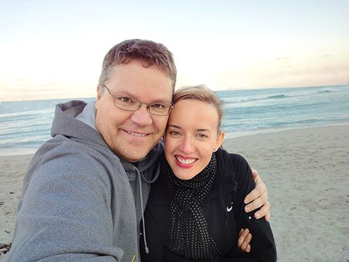 """<p>Five years ago, Laura and her husband, Ron, were earning about $90,000 a year, but Laura desperately wanted to quit her day job to pursue acting (which she did on nights and weekends). She took the leap, and was so successful with performing and voice-overs that she was able to match her former $40,000 salary.</p> <p>But when the recession kicked in, Laura's income dropped to about half that. Although the couple adjusted (eating out less, giving up their gym memberships, etc.), their overhead was still high. """"We'd set up everything—the mortgage, utilities, our whole lifestyle—based on two incomes,"""" she says. Laura and Ron shared expenses but kept separate accounts, from which each kicked in $2,000 a month. When Laura was short, her husband made up the difference. """"But we didn't talk about money,"""" she admits. """"He was protecting me, because he didn't want me to feel bad about my decision to be an actor.""""</p> <p>Turned out he had been putting expenses on their joint card and on his own, and by the time Laura saw the nearly $14,000 balance on the joint card last year, """"I was so shocked,"""" she says. Worse, she had racked up debt of her own—about $4,300—most of which came from a long-standing retail therapy habit: buying clothes as a mood booster. Ron's card had over $8,000 on it. All told, they were more than $26,000 in the hole on their credit cards.</p>"""