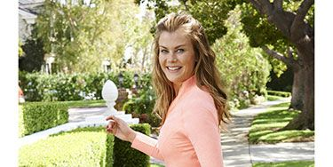 """<p>You know the saying: If you want something done, ask someone who's busy. In other words, talk to Alison Sweeney. She hosts NBC's<em>The Biggest Loser</em>, just released her second novel, <em>Scared Scriptless</em>, is wrapping up her last year on <em>Days of Our Lives—</em>and she juggles life as the mother of Ben, 9, and Megan, 5, and the wife of California Highway Patrol officer David. The one thing that keeps everything else afloat? Her commitment to staying well.</p> <p>But that wasn't always so. Alison struggled with weight fluctuations in her 20s and experimented with crash diets that left her exhausted and overweight, because during that time her motivation was just to be thin.</p> <p>Then, in 2007, at the beginning of her <em>Biggest Loser</em> host gig, she discovered a simple secret that enabled her to drop and keep off 30 pounds: Think about <em>health</em> instead of the number on the scale. Spending time with the show's participants initiated this mental shift. She watched them overcome struggles to not only lose weight but to improve their energy levels and lower their risk of disease as well. """"I realized that getting in shape was about so much more than fitting into a certain size.""""</p> <p>So, Alison changed her thinking from """"I wish I were thin"""" to """"I want to be healthy."""" Once she adopted that mantra, she stopped judging herself against an arbitrary rule about being skinny and was so much happier. """"At that point, things just fell into place,"""" she says. """"I wanted to cook healthy meals and I was excited to be able to go for a 30-minute walk or jog.""""</p> <p>Now, filling her body with wholesome food and squeezing in daily activity is at the top of her to-do list. """"I love to walk because it gives me a chance to be outdoors and to explore the world around me,"""" says Alison, who walks alone or with her family three times a week. """"Walking is a form of meditation for me—I'm able to take deep breaths and enjoy the moment.""""</p> <p>Alison also uses fitness to"""
