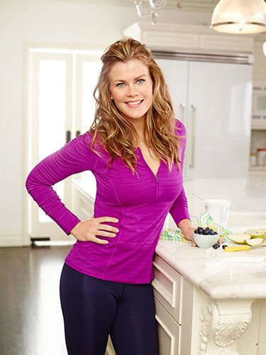 """<p>How does Alison Sweeney <a href=""""http://www.womansday.com/health-fitness/diet-weight-loss/foods-that-keep-you-full"""" target=""""_self"""">stay full</a> and <a href=""""http://www.womansday.com/health-fitness/diet-weight-loss/how-to-speed-up-your-metabolism"""" target=""""_self"""">keep her metabolism revved</a>? Click to see how she packs her plates and powers up her pantry.</p> <div> </div>"""