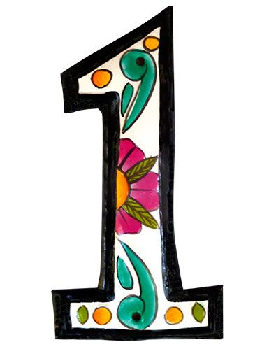 "<p>Your home's look starts from the outside, so give the best impression with these designer digits. Try this tip: Choose numbers that are 3"" and taller for the best visibility from the street.</p> <p>Fun and floral, <strong>Tropic Accents' Hand-Painted House Number</strong> brings some island calm to any abode. $9.95; <a href=""http://www.etsy.com/"">Etsy.com</a></p>"