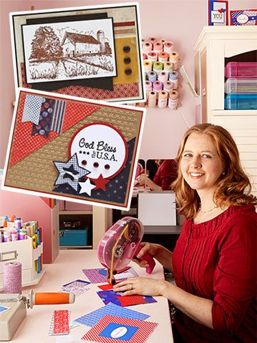 """<p>Kristie Marcotte, 40<br /> Puyallup, WA<br /> Her hobby:  Making greeting cards</p> <p>CREATIVE CONTRIBUTION<br /> Kristie has produced more than 5,000 cards for <a href=""""http://www.operationwritehome.org"""" target=""""_blank"""">Operation Write Home</a>, which sends handcrafted cards to service members so they can write to their families stateside.<br /> <br /> Kristie knows all about having a family member in the military. She's the daughter and granddaughter of former military men, and her father-in-law served three tours in Vietnam. """"My husband has shared with me how difficult it was when his father missed family milestones,"""" she says.</p> <p>So when Kristie, a stay-at-home mom of two, read about Operation Write Home on a scrapbooking blog in 2011, her mission crystallized. First she donated the cards she'd been making just for fun, then she began crafting cards specifically for service members. But clipping and gluing was just the start: In 2012, she began to hold letter-writing events at her church and her son's school.</p> <p>As much as Kristie enjoys the creative outlet, she loves seeing photos on the charity's Facebook page of children holding up cards they received from their far-off mom or dad. """"I can imagine the joy they feel when they open their mailbox and find that card,"""" she says. """"Something tangible that a mom or dad can share with their kids—it's irreplaceable.""""</p>"""